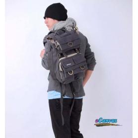 Camera backpack for men