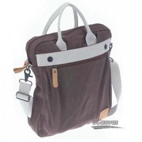 coffee Canvas messenger bag
