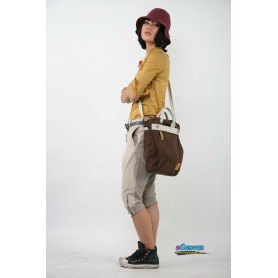 women's Canvas messenger bag