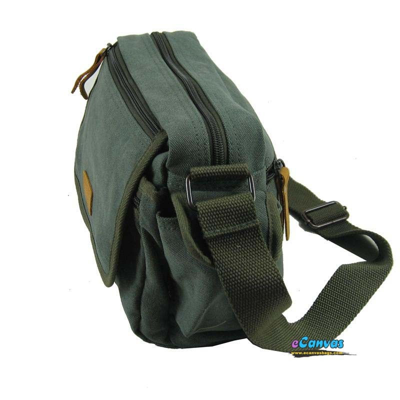 Cross Body Bag Army Green Small Messenger