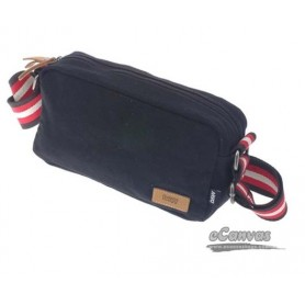 black Canvas messanger bag