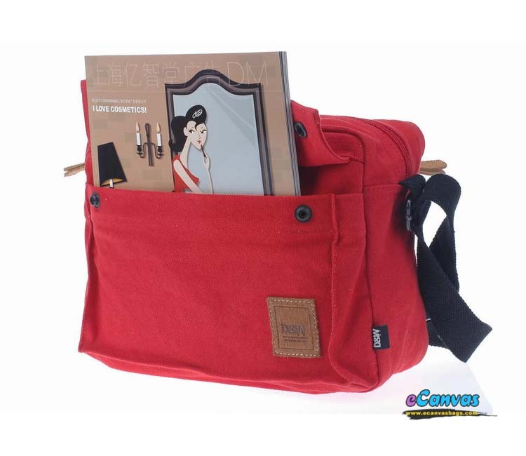 Cute messenger bag, IPAD bag, 3 colors - E-CanvasBags