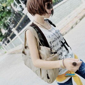 khaki Fashion utility bag for women