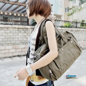 army green Fashion utility bag for women