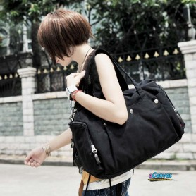black Fashion utility bag for women