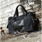black Large capacity shopping bag