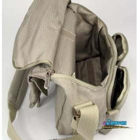 SLR camera shoulder bag 1 camera 2 lens