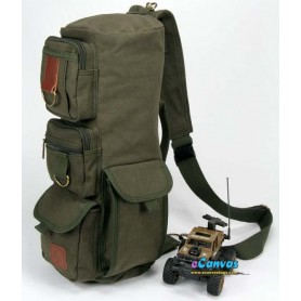 army green tactical shoulder go pack bag