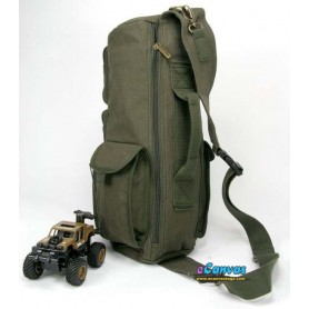 Military Inspired canvas sling backpack