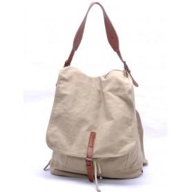 khaki Canvas knapsack