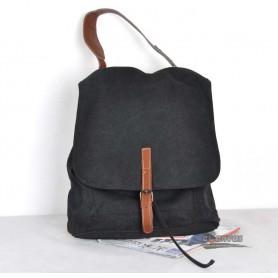 black Canvas knapsack
