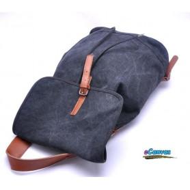 black beach backpack