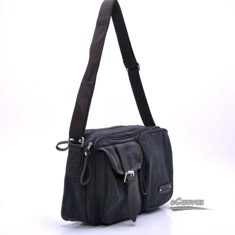Canvas messenger bags for college students, student sling bag ...