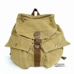 Personalized backpack, best backpack, khaki & black