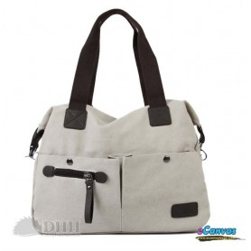 beige Large handbags tote