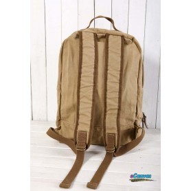 khaki Canvas day pack unisex