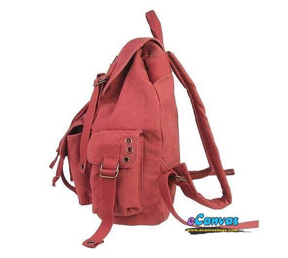 red backpack for college