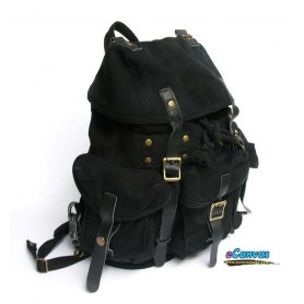 Heavy duty backpack black