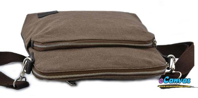 Coffee mens canvas mini pack, casual business messenger bag - E ...