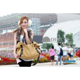 womens Large messenger bag yellow