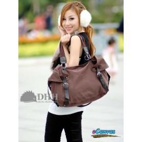 girls Large messenger bag coffee