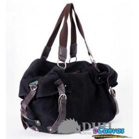 Large messenger bag black