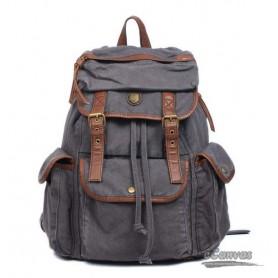 Military backpack grey