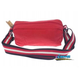 red over the shoulder bag
