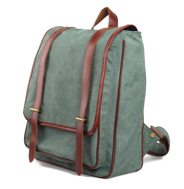 2f426b228a76 ... Cheap daypack balck for couples  Cheap daypack balck for lovers  army  green canvas backpack ...