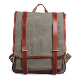 army green canvas backpack