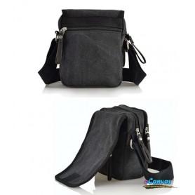 black business sling bag