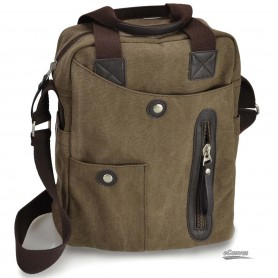 coffee canvas messenger bags for men
