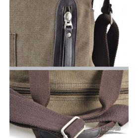 coffee canvas messenger bags