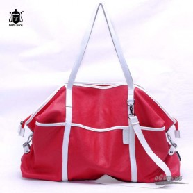 red  water proof couples bag