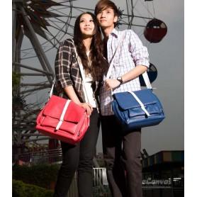 Couples canvas shoulder bag