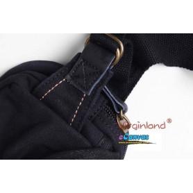 Waist fanny pack black for men