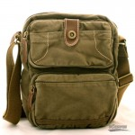 Vertical messenger bag, distressed messenger bag, 3 colors