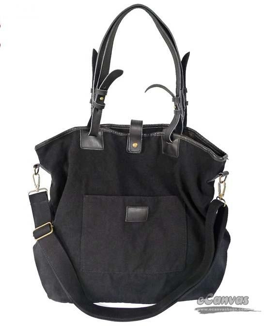 Womens Messenger Bag Black