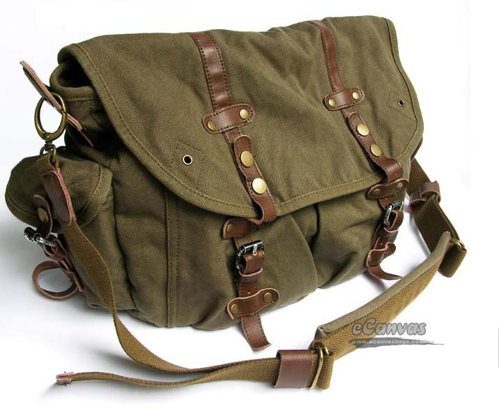 f937501eb7 ... mens Tactical shoulder bag army green ...