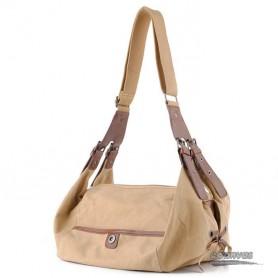 Womens messenger bag khaki