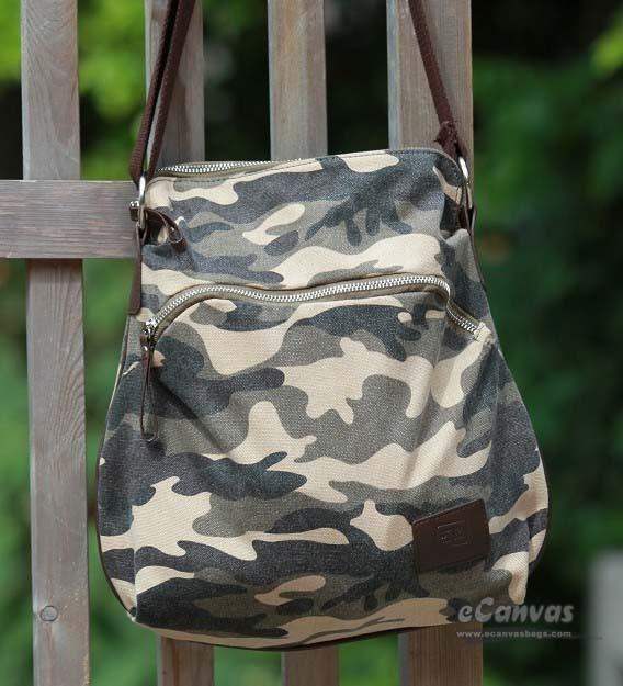 Camo canvas bag for women - E-CanvasBags 516796d87b