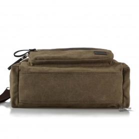 Canvas shoulder bags coffee for men