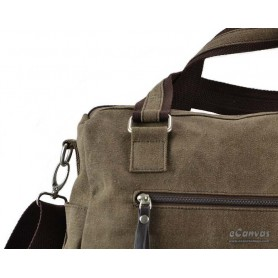 13 inch laptop bag coffee for men