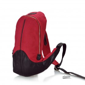 Canvas funny pack red