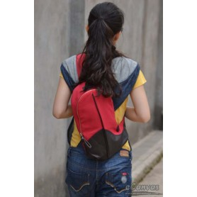 Canvas funny pack red for women