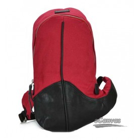 womens Canvas funny pack red