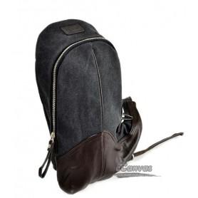 black messenger sling bag for girls