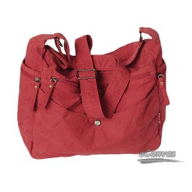 red Casual cotton cloth bag