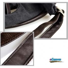 black messenger sling bag for ladies