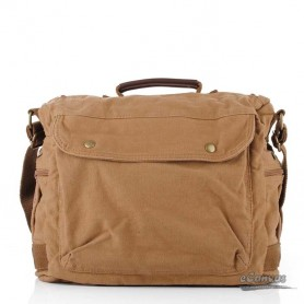 khaki laptop bag